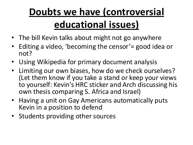 controversial issues presentations Update: check out our new infographic with awesome essay topics for 2014  there is nothing like a controversial topic to get the blood.