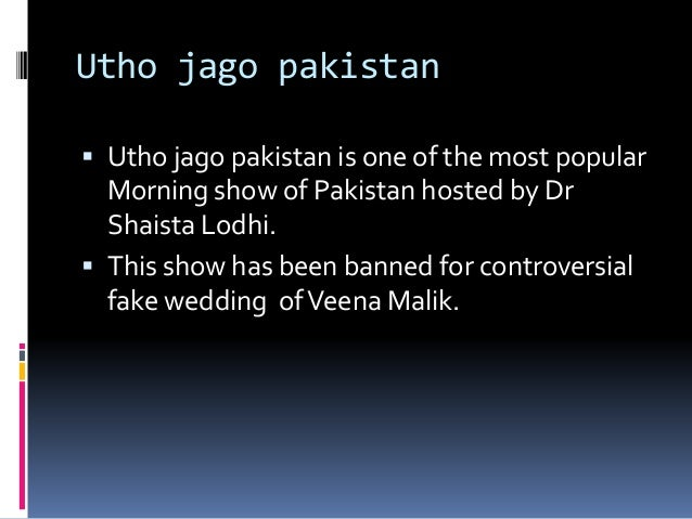 Controversial morning show of geo tv and blasphemy