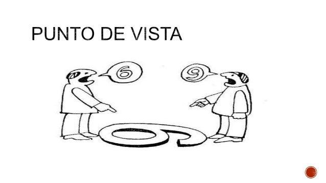 La opinión hace referencia a una preferencia personal El punto de vista, es fundamentado y aspira a ser aceptada por tod...