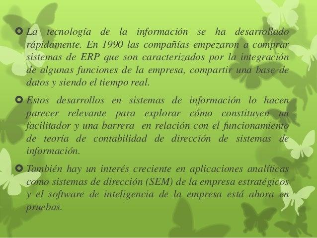 Controversias sobre el sistema de contabilidad integrada   margarita lopez Slide 3