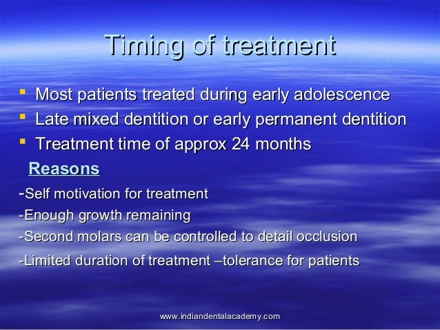 primary and early dentition treatment Description open-bite malocclusion: treatment and stability presents the etiology, treatment, and its stability of anterior open bite malocclusion in the early, mixed, and permanent dentitions.
