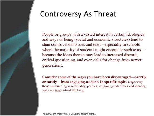 controversial topics 2014