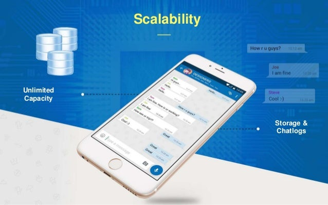 Scalability Unlimited Capacity Storage & Chatlogs