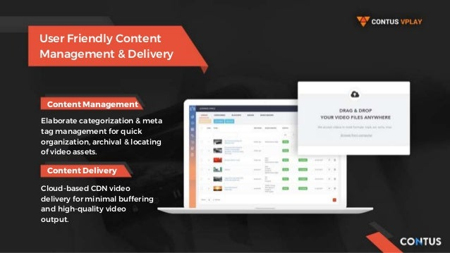Content Management User Friendly Content Management & Delivery Elaborate categorization & meta tag management for quick or...