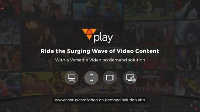 Contus Vplay - Video on Demand & Live Streaming Solution