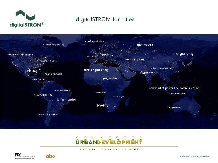 digitalSTROM for cities     aizo                             © digitalSTROM.org 23.09.2008