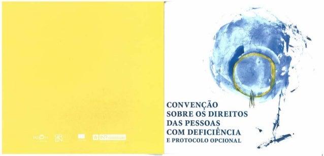 Convenção sobre o direito das pessoas com deficiência