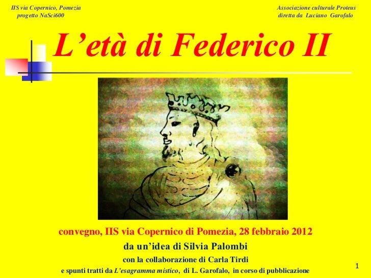 IIS via Copernico, Pomezia                                                              Associazione culturale Proteus  pr...