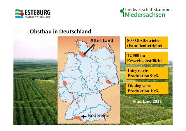 OVB Jork    Obstbau in Deutschland                         Altes Land       800 Obstbetriebe                              ...