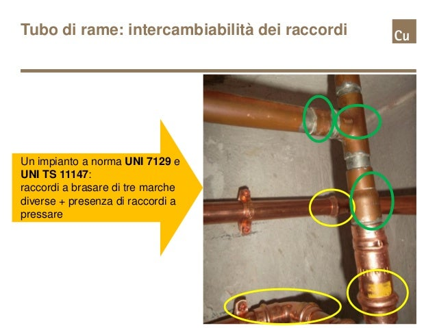 Convegno Pordenone 2015: Il tubo di rame nella UNI 7129 e ...