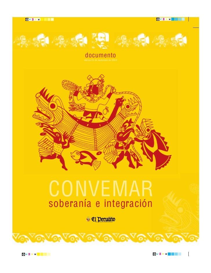 documento        viernes 25 de noviembre de 2004     CONVEMAR soberanía e integración