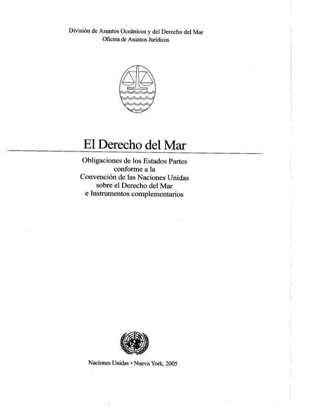 Convención del mar 1982