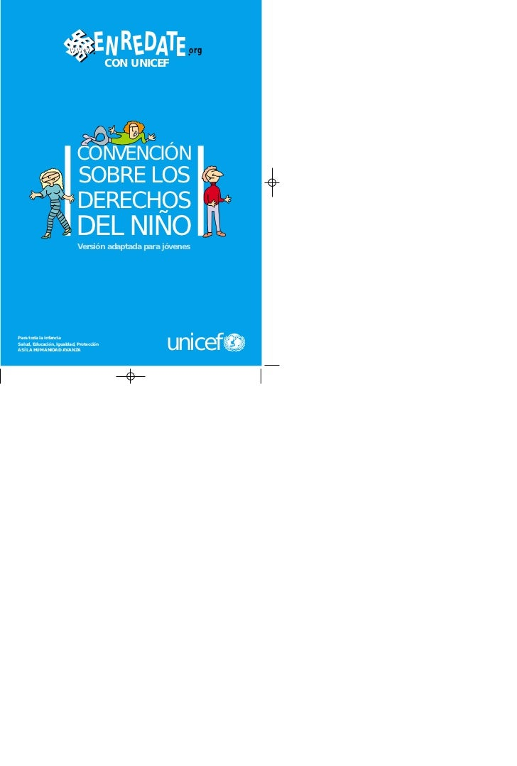 www        ENR EDATE           org                                    CON UNICEF                           CONVENCIÓN     ...