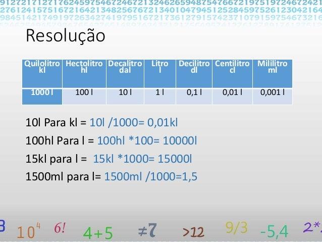 f18aa3317 Conversões de Unidades de medidas (Volume