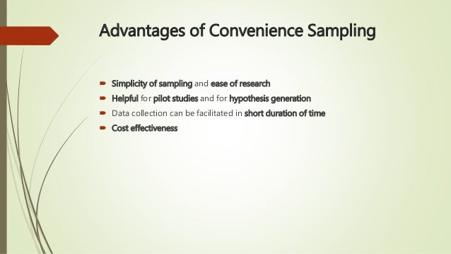 Final Study Guide - Final Study Guide convenience sample A ...