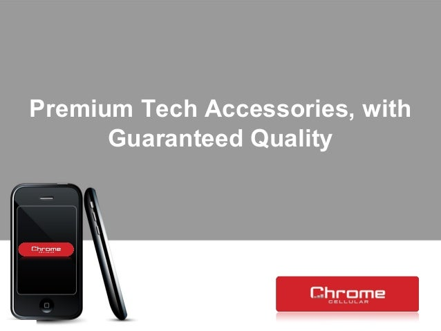Premium Tech Accessories, with Guaranteed Quality