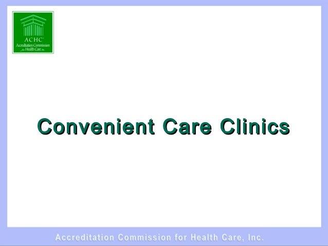 Convenient Care ClinicsConvenient Care Clinics
