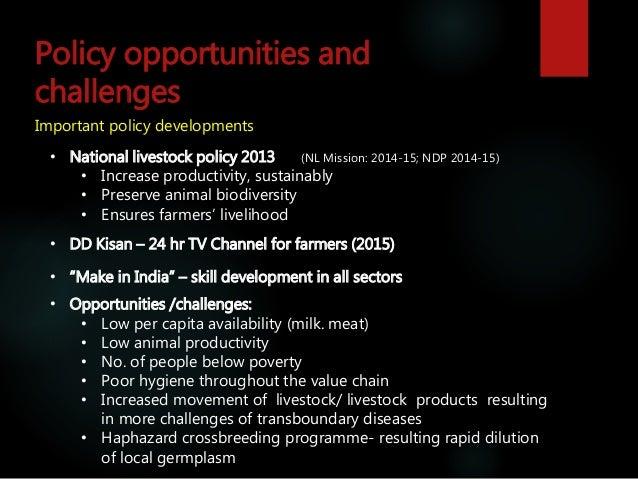 Livestock advocacy and communications—India scene  Slide 3
