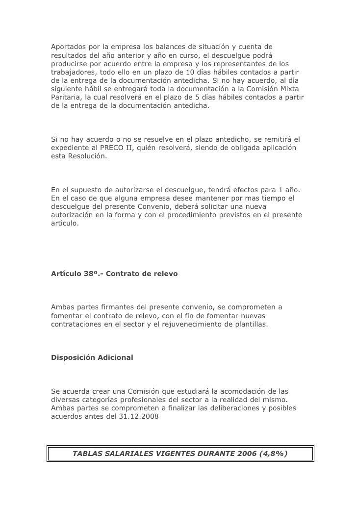 Ejercicio 4 cotizacion for Convenio oficinas y despachos navarra