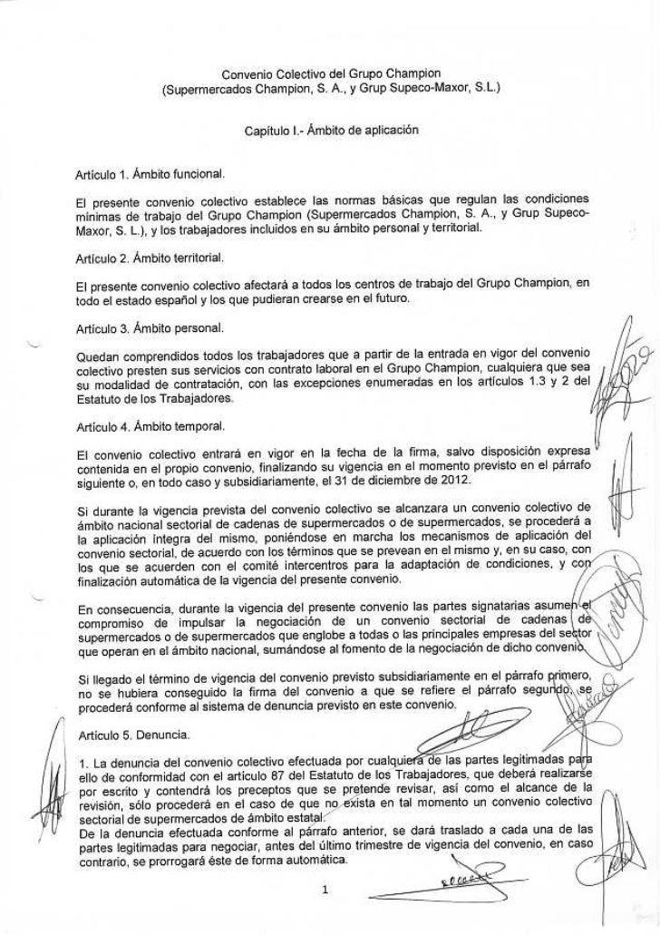 Convenio 2011 firmado