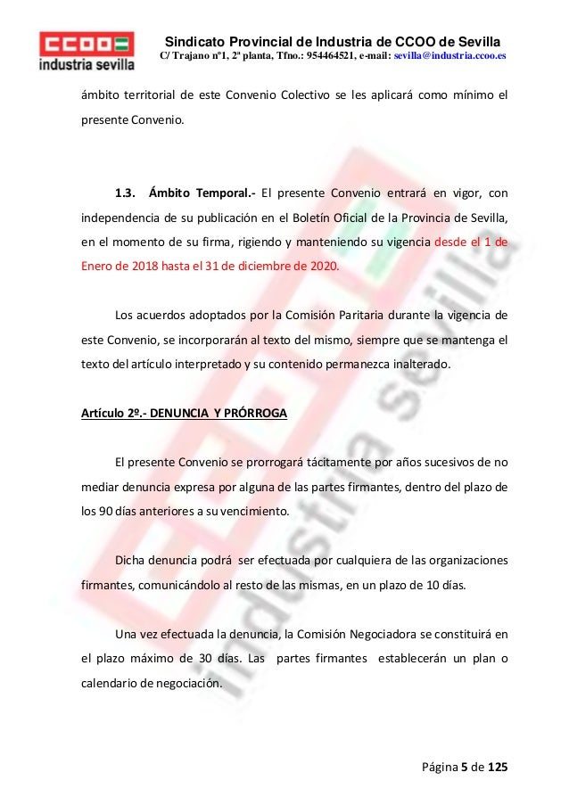 Calendario Escolar Sevilla 2020 19.Convenio Colectivo Siderometalurcia 2018 2020