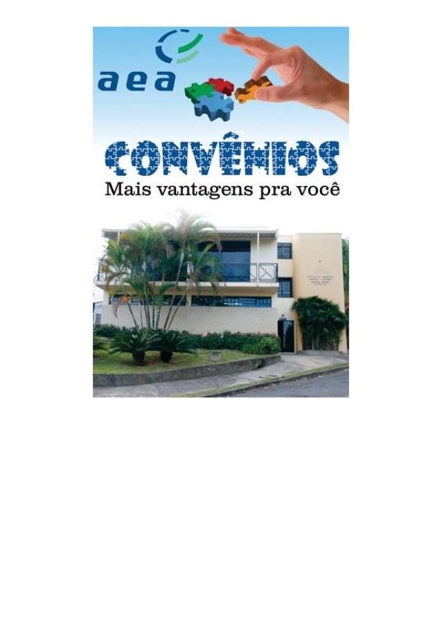 Convenios AEA São João da Boa Vista - SP