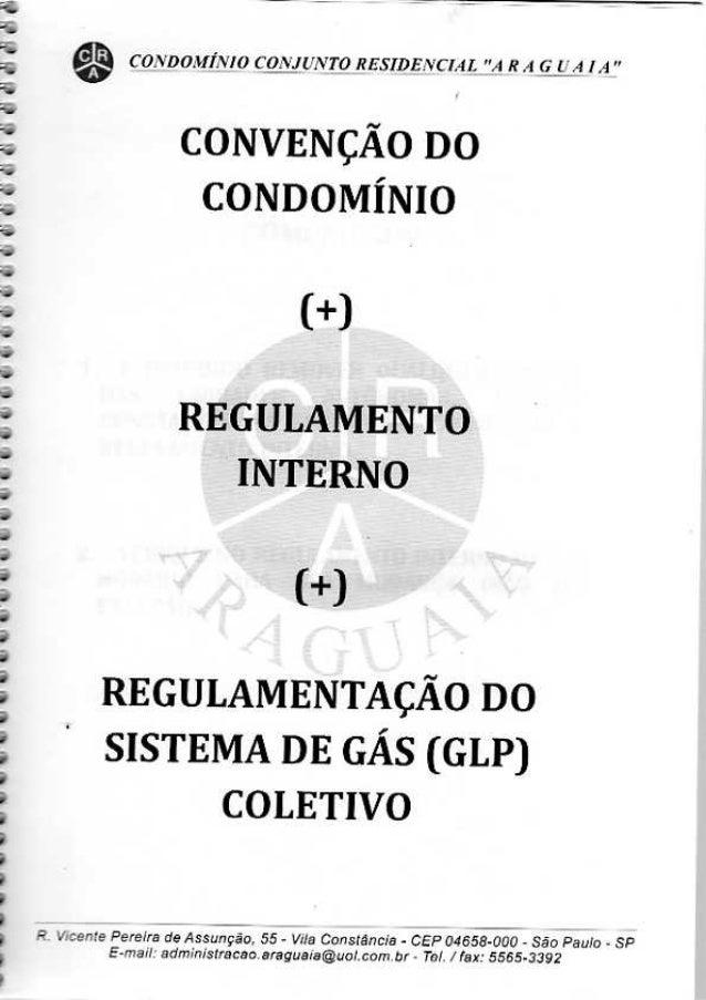 Convenção Codomínio Araguaia