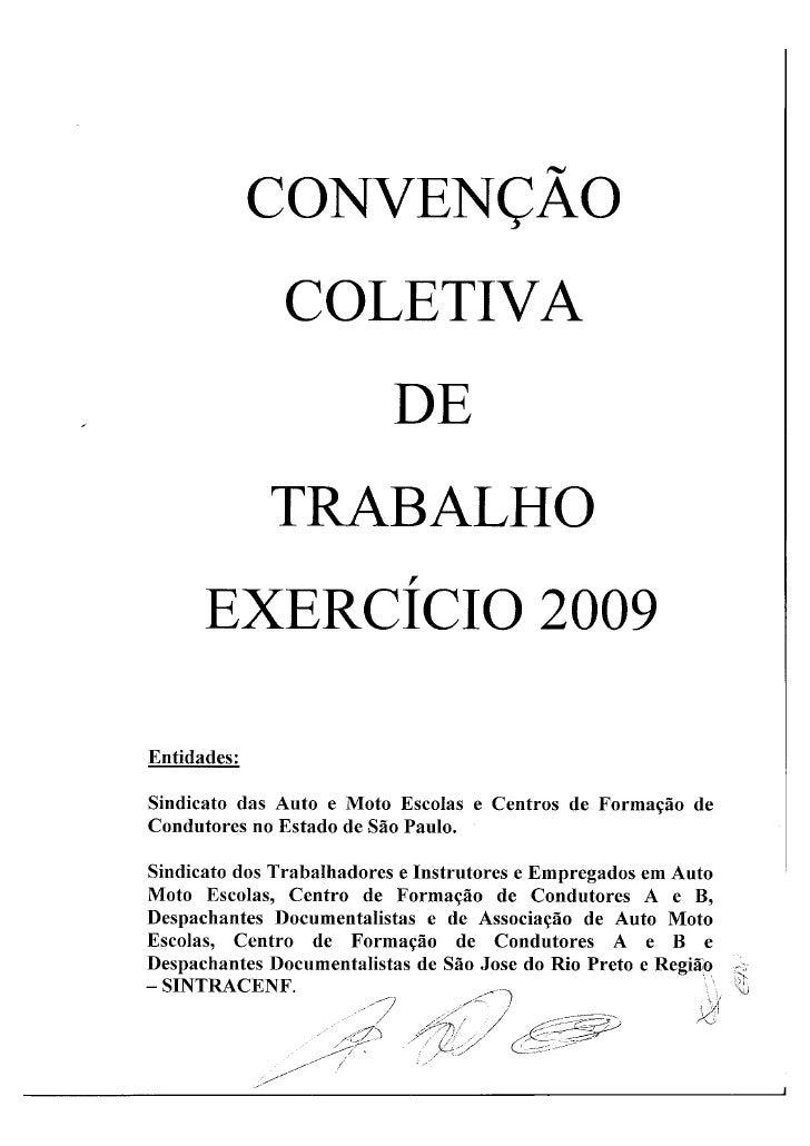 ConvençãO Auto Escolas  2009
