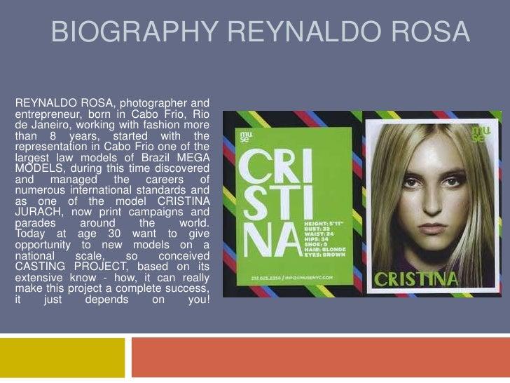 BIOGRAPHY REYNALDO ROSA <br />REYNALDO ROSA, photographer and entrepreneur, born in Cabo Frio, Rio de Janeiro, working wit...