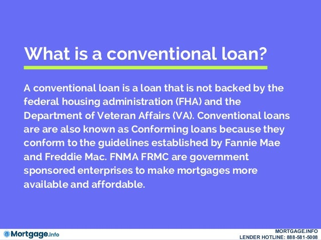 Conventional Loans- Mortgage.info
