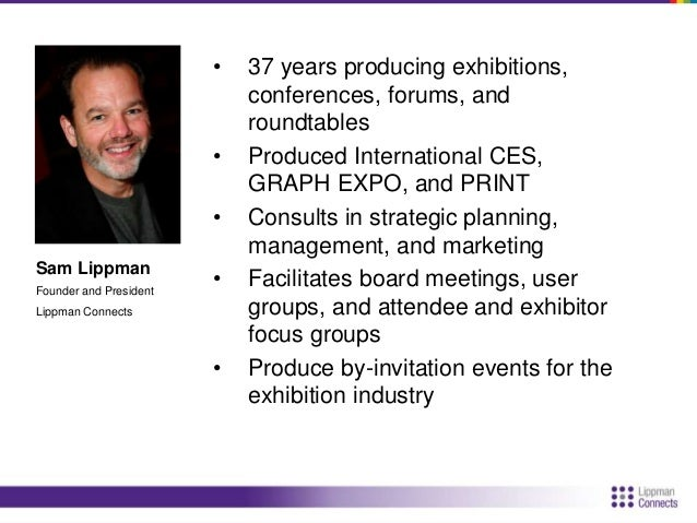 Agenda  • Strategy  • Attendee Acquisition  • Exhibits and Sponsorships
