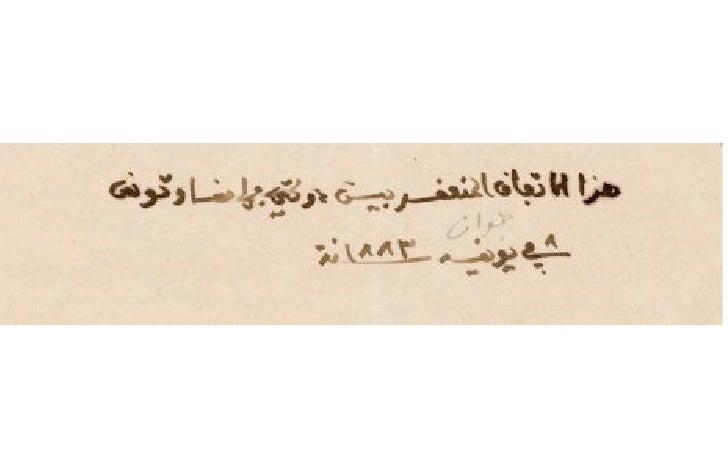 Convention de la Marsa 1883, Protectorat Tunisie