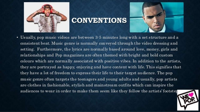 Convention of Music Video Slide 2
