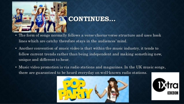 Convention of Music Video Slide 3