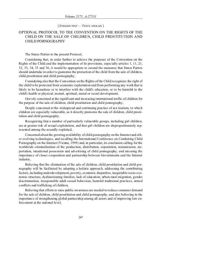 Volume 2171, A-27531                             [ ENGLISH TEXT — TEXTE ANGLAIS ]OPTIONAL PROTOCOL TO THE CONVENTION ON TH...