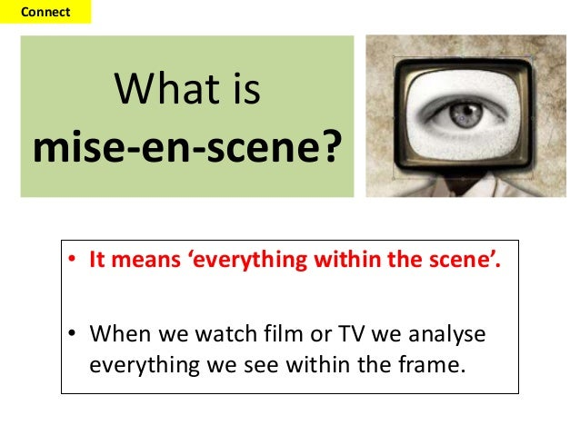 mise en scene analysis of titanic film studies essay Camera shots, angles and movement, lighting, cinematography and mise en scene, film overview, skills by text type: film, english skills, year 9, nsw film techniques.