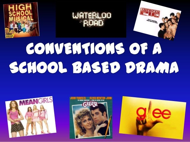 Conventions of a school based genre