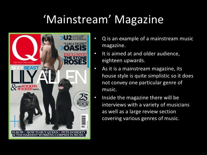 Conventions of Music Magazines