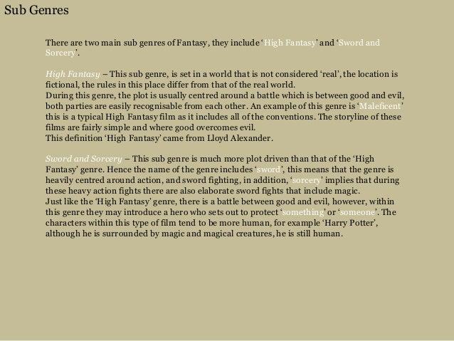 genre conventions definition