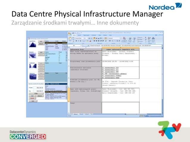 Data Centre Physical Infrastructure Manager Zarządzanie środkami trwałymi… Inne dokumenty
