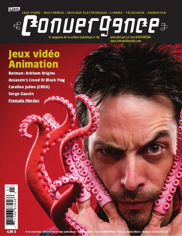 JEUX VIDÉO - MULTIMÉDIA / MUSIQUE ÉLECTRONIQUE / CINÉMA - TÉLÉVISION - ANIMATION  le magazine de la culture numérique no 8...