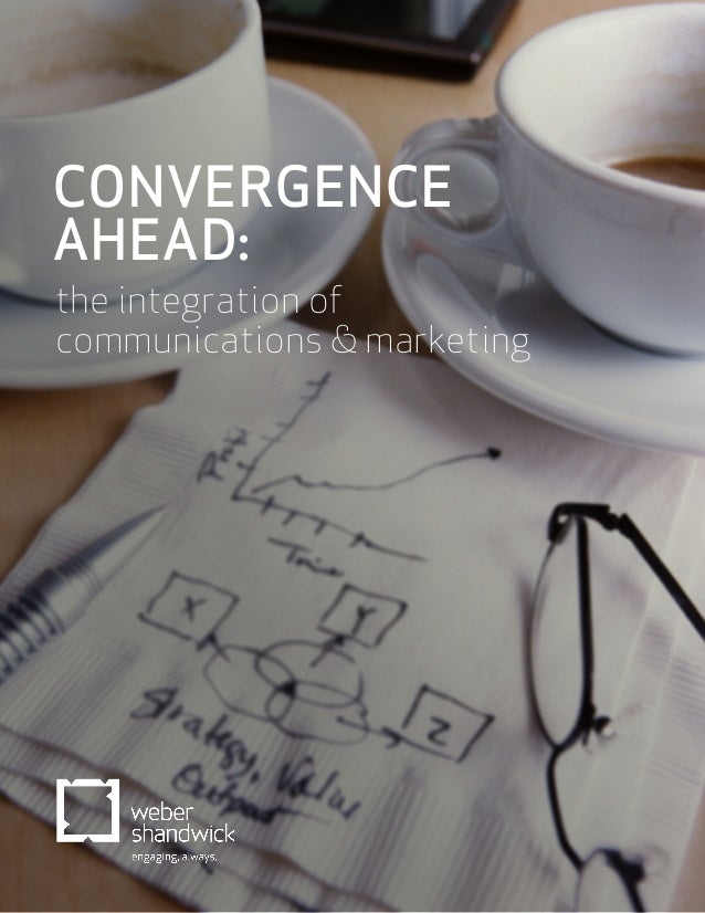 CONVERGENCE AHEAD: the integration of communications & marketing