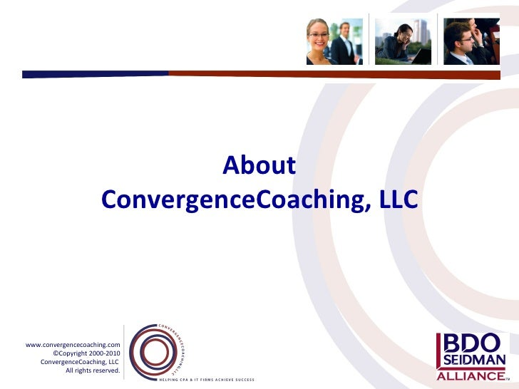 About ConvergenceCoaching, LLC