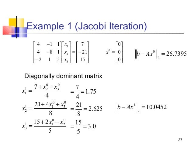 how to find infinity norm of a matrix