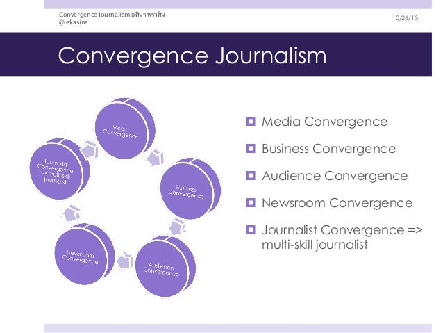 media convergence in business Convergence trends in the television media industry - a case study on the   the television media business is starting to decline or stagnate, according to.