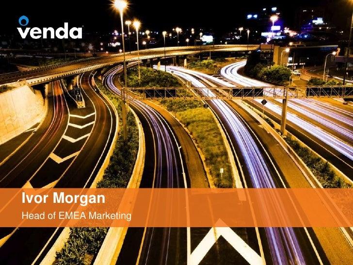 Ivor MorganHead of EMEA Marketing