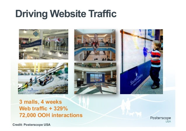 Driving Search OOH lead medium                           OOH                                         campaign  Searches fo...