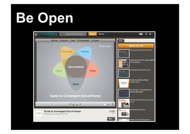 Be responsibleCollaborate                  Be open       for creative   more                                 & content    ...