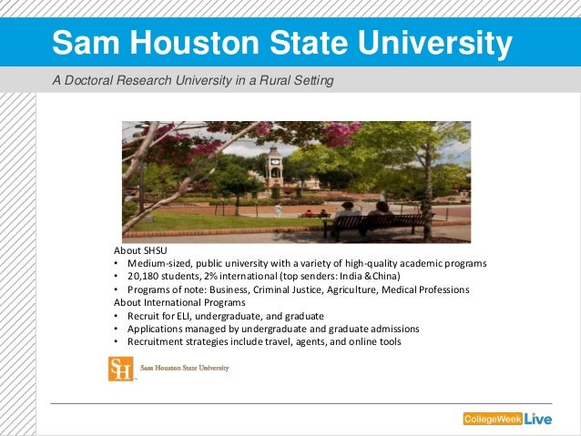 sam houston state university admissions essay