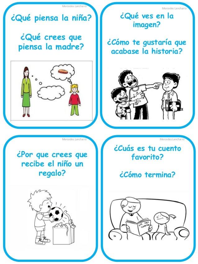 Mercedes Lancharro  Ordena la historia  Mercedes Lancharro  ¿Por qué crees que el niño esconde las flores?  Mercedes Lanch...